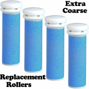 Extra Coarse Blue Micro Mineral Replacement Rollers for Micro Pedi