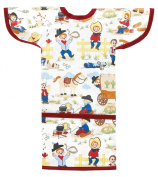 AM PM Kids! Sleeved Toddler Laminated Bib, Li'l Cowboy