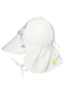 Iplay Baby Infant Toddler Unisex Solid Colour Flap Sun Hat / Beach Hat by Iplay