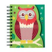School Days Owl Layered Journal