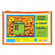 Keith Haring DJ Robot Pouch Puzzle