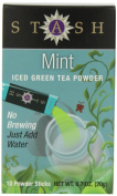 Stash Powdered Green Iced Tea, Mint, 10 Count