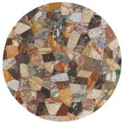Cork Drink Coaster Set - Mosaic Design - Set of