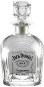 Jack Daniel's Licenced Barware Label Logo Square Decanter