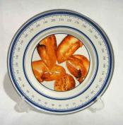 Golden Rabbit Enamelware Red Lobster Sandwich Plate