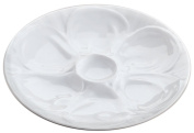 HIC Porcelain Oyster Plate, 23cm