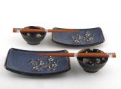 Sushi for Two Set_Namako Blossom G280B