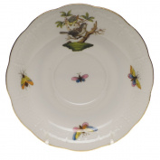 Herend Rothschild Bird Tea Saucer Motif #1