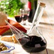 La Tienda Glass Porron Wine Pitcher