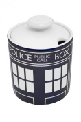 BBC Doctor Who Official Merchandise Sugar Bowl - Blue