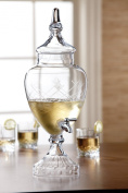 Fifth Avenue Crystal Winston Glass Beverage Dispenser