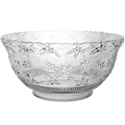 11.4l Embossed Clear Punch Bowl