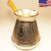 "Turkish Greek Coffee Pot ""Deer"" Volume 16.9 Oz - 500 ML"