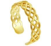 Gold Trinity Knot Celtic Toe Ring