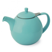 FORLIFE Curve 1330ml Teapot with Infuser, Turquoise