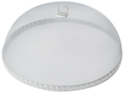 Woodard & Charles Round White Food Domes, 36cm