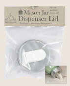 Mason Jar Aluminium Grain Dispenser Lid
