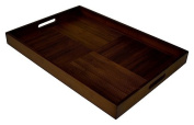 Simply Bamboo Extra Large Espresso Serving Tray
