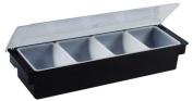 Winco CCH-4 4-Compartment Condiment Holder