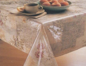 Clear Vinyl Tablecloth Protector By Elrene - Assorted Sizes