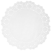 Wilton 2104-90212 6 Count Grease Proof Doilies, 30cm , White