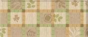 Parklon Kitchen Floor Mat Green Leaves