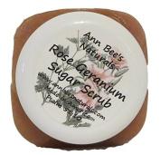 rose geranium sugar scrub