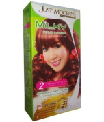 Just Modern Milky Permanent Hair Wave Perm Lotion Permed Tinted Hair