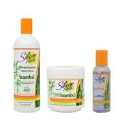 "Silicon Mix Bambu Shampoo & Treatment 470ml & Polisher 120ml ""Set"""