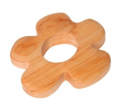 Grimm's Natural Wood European Baby Teether Grasping Toy