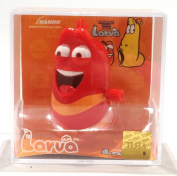 funny insect Larva red spring toy