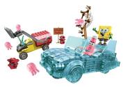 Mega Bloks SpongeBob SquarePants - Invisible Boatmobile Rescue Playset