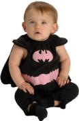 DC Comics Deluxe Pink and Black Batgirl Bib and Cape Costume