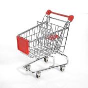 Minya International Corp. Mini Shopping Cart - Red
