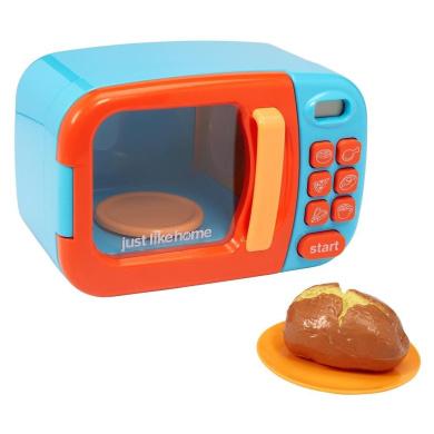 .  Home Microwave - Blue w/ Play Food
