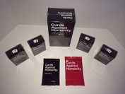 Cards Against Humanity Expansion Bundle Includes Base Game Expansion Packs 1,2,3,4 and Rare Reject and Holiday Packs!