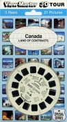 View-Master Classic 3Reel Canada Land of Contrasts