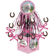 Heart My Horse Centrepiece Mini Cascade Foil with Base Party Decoration