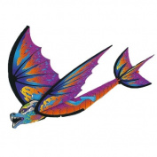 X-Kites Flexing Purple Dragon Glider, 41cm
