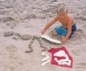 Dinosaur T-Rex Bones Sand Mould