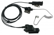 FBI Headset Earpiece PTT Mic for Motorola HT1000 MT2000 MTS2000 MTX8000 MTX9000 MTX838 JT1000 PR1500 MT1500 XTS1500 XTS2500 XTS3000 XTS5000 Portable Radio Microphone 2 Wire Surveillance