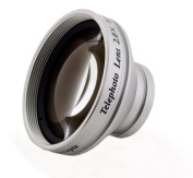 2.0x High Grade Telephoto Conversion Lens (30mm) For Sony Handycam DCR-SR87