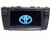 OTTONAVI Toyota Camry 07-28cm Dash Double Din Touch Screen GPS Navigation Radio