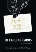 Fuck Yeah! Calling Cards