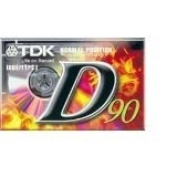 TDK D90 High Output 16-Pack audio cassette tapes