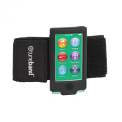 Tuneband for iPod nano 7th Generation (Model A1446, 16 GB), Black, Grantwood Technology's Armband, Silicone Skin, and Screen Protector