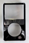 Black Apple iPod Classic Hard Case with Aluminium Plating 80gb 120gb 160gb