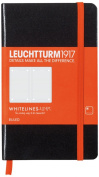Leuchtturm Whitelines Link Black Pocket Ruled