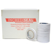 IncrediSeal TM Double Sided Tissue Tape, 12mm x 36 yds, 144 rolls/case