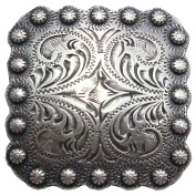 BS9291-1-SRTP 2.5cm Berry Square Concho Antique Silver